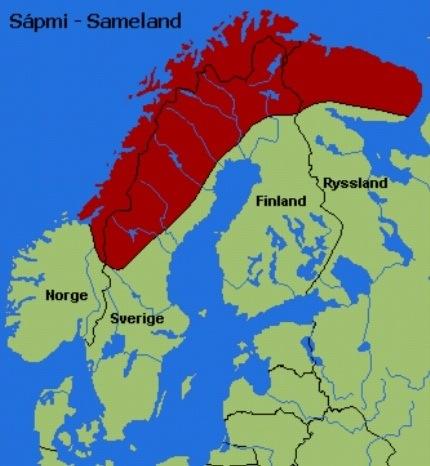 samisk kart Samene | Sommerkurs i norsk samisk kart